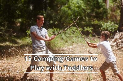 15 Camping Games to Play with Toddlers