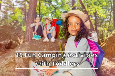 15 Fun Camping Activities with Toddlers