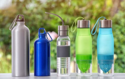 5 Types of Water Bottles and How to Choose One