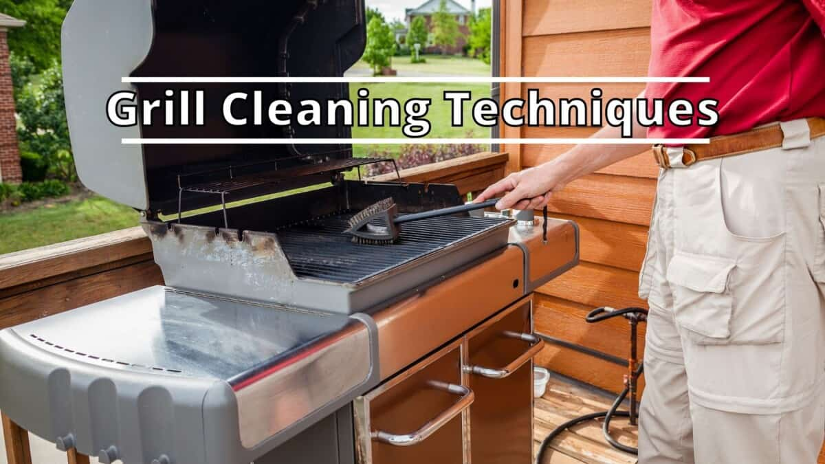 Grill Cleaning Techniques