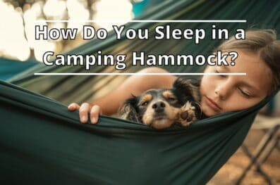 How Do You Sleep in a Camping Hammock? Is It Bad for me?