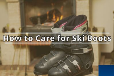 How to Care for Ski Boots (Cleaning and drying, Storage)