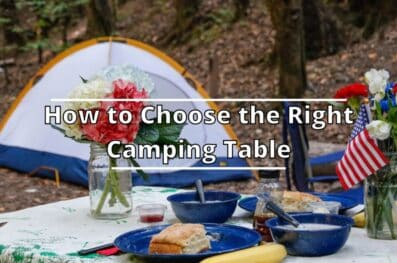 How to Choose the Right Camping Table