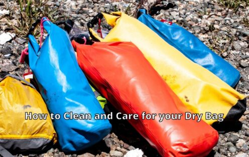 How to Clean and Care For your Dry Bag