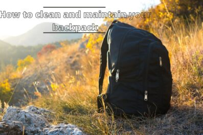 How to Clean and Maintain your Backpack (Helpful Tips)