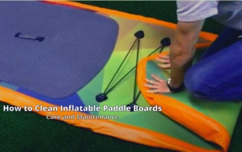 How to Clean Inflatable Paddle Boards