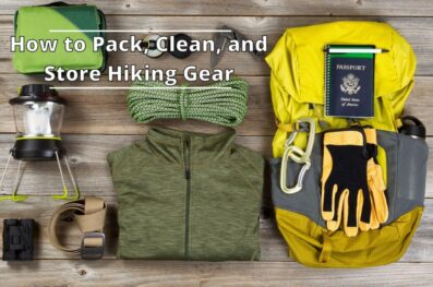 How to Pack, Clean, and Store Hiking Gear