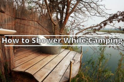 How to Shower While Camping