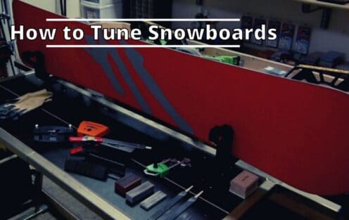 How to Tune Snowboards (Helpful Guide)