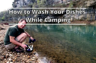 How to Wash Your Dishes While Camping