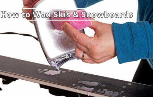 How to Wax Skis and Snowboards (Helpful Guide)