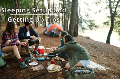 How to Sleep and Wake Up Comfortably While Camping
