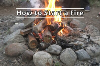 Step-By-Step Guide on Starting a Campfire (And How to Put it Out)
