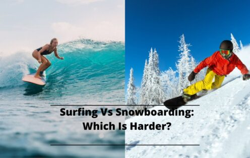 Surfing vs. Snowboarding: Which Is Harder?