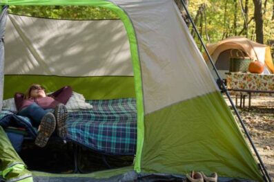 A Step-by-step DIY Tent Cot