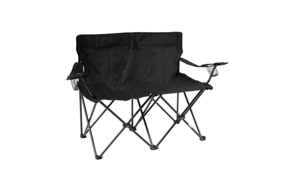 Trademark Innovations Loveseat Style Double Camp Chair