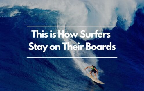 This Is How Surfers Stay On Their Boards