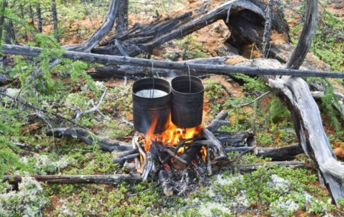 How to Cook Without Utensils When Camping